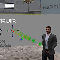 Tutorial de cómo construir una galería virtual 3D de Arte en Second Life